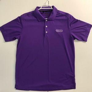 Adidas Golf Men's M Royal Purple Short Sleeve Polo